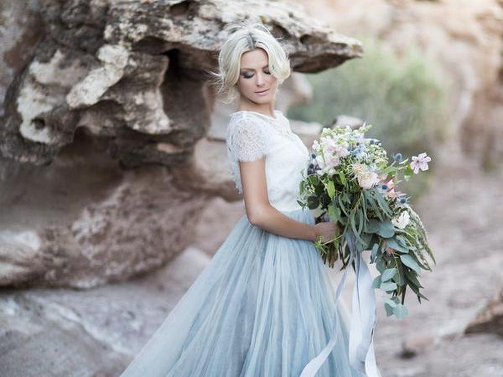 5 Ide Gaun Pernikahan Two-Piece Untuk Pengantin yang Ingin Tampil Beda
