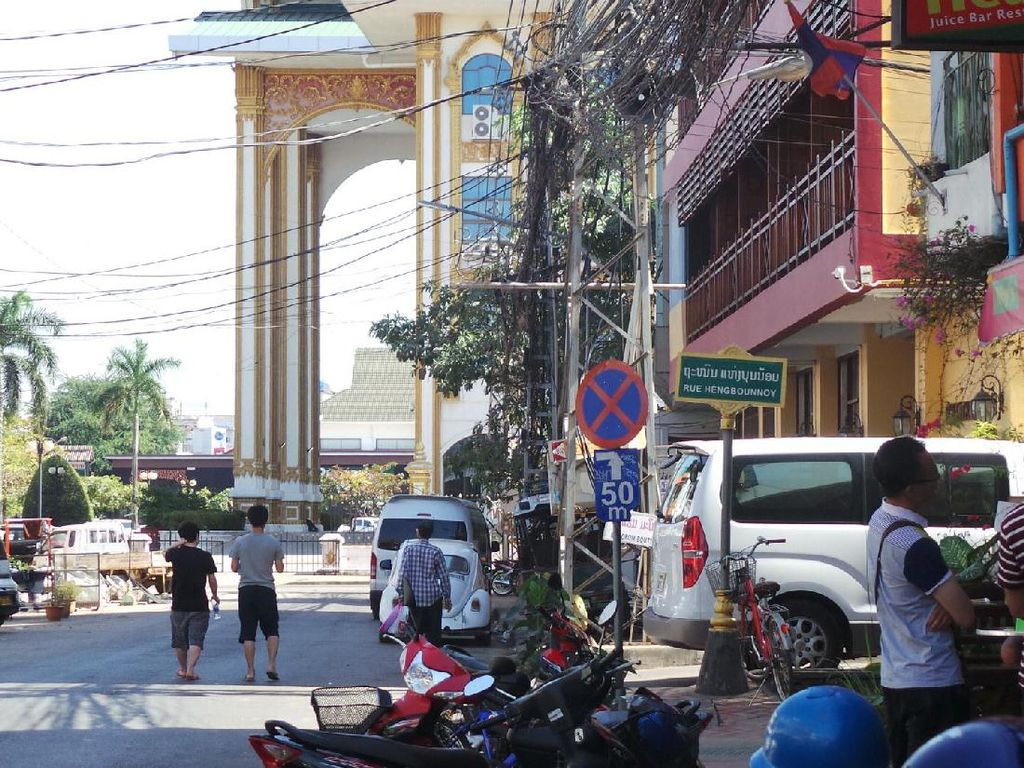 Sudut-sudut Ibu Kota Vientiane dari Mata Lensa