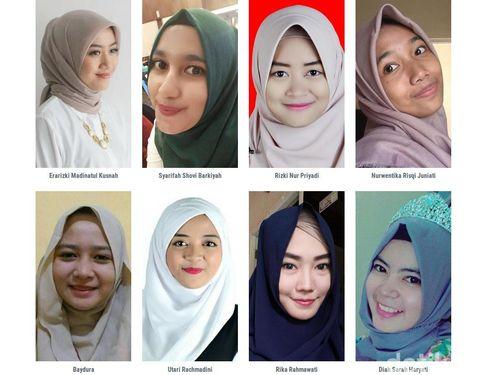 Foto: Cantiknya 8 Peserta Hijab Hunt 2017 Berdasarkan Foto Close-Up 1