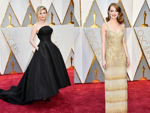 Foto: 10 Gaun Oscar 2017 yang Paling Banyak Dicari di Google 1