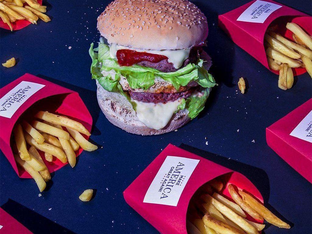 Kreasi Foto Ini Tampilkan Makanan Kegemaran Tokoh Terkemuka di Dunia (2)