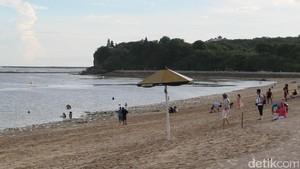 Ini Pantai Geger, Tempat Raja Salman Bersantai di Bali Nanti