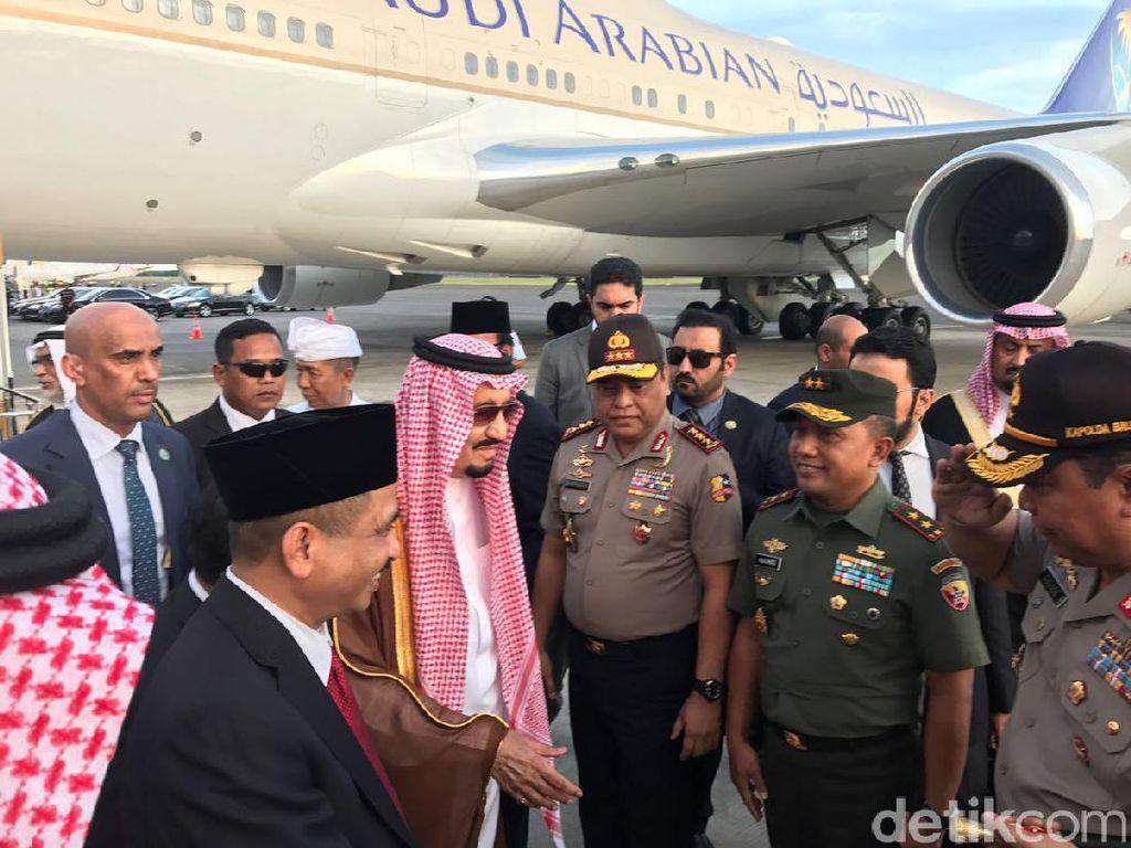Menpar Arief Yahya Sambut Kedatangan Raja Salman di Bali