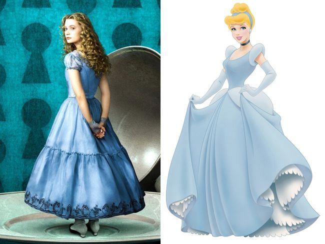 Rahasia Di Balik Baju Biru Yang Dipakai Cinderella Hingga