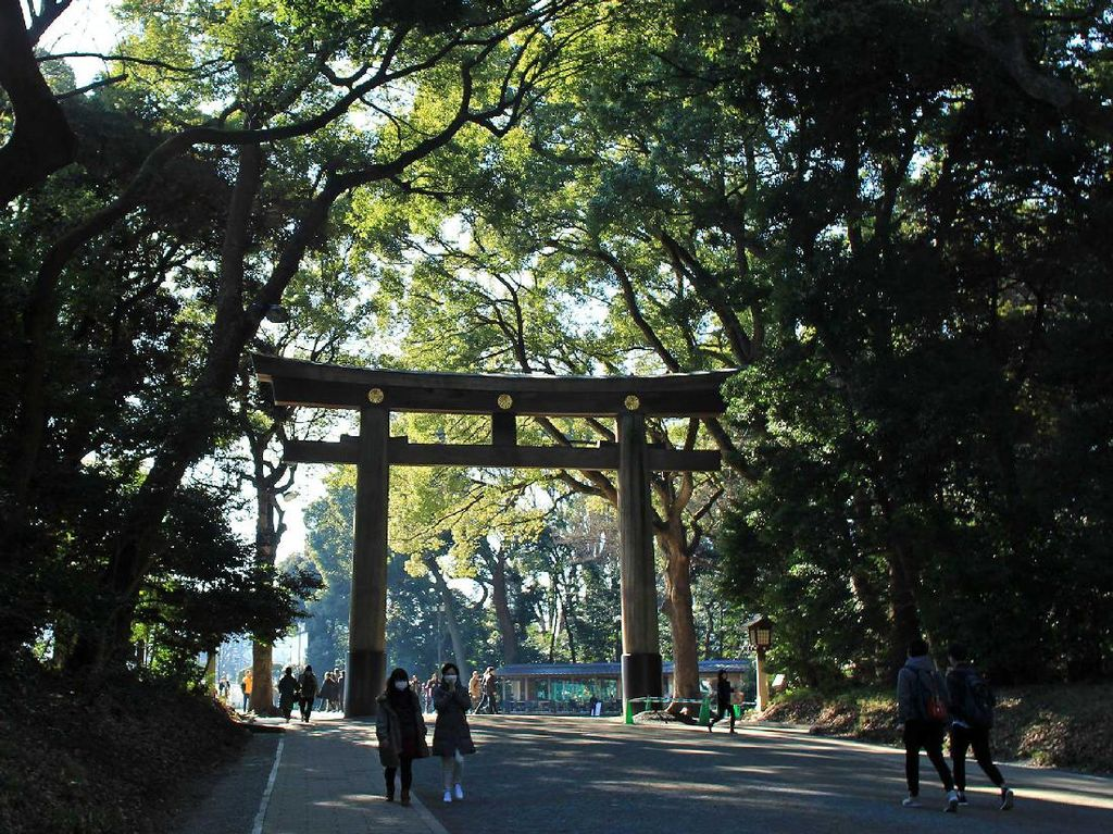 Kuil Meiji Jingu, Sisi Lain Dibalik Hingar Bingar Shibuya