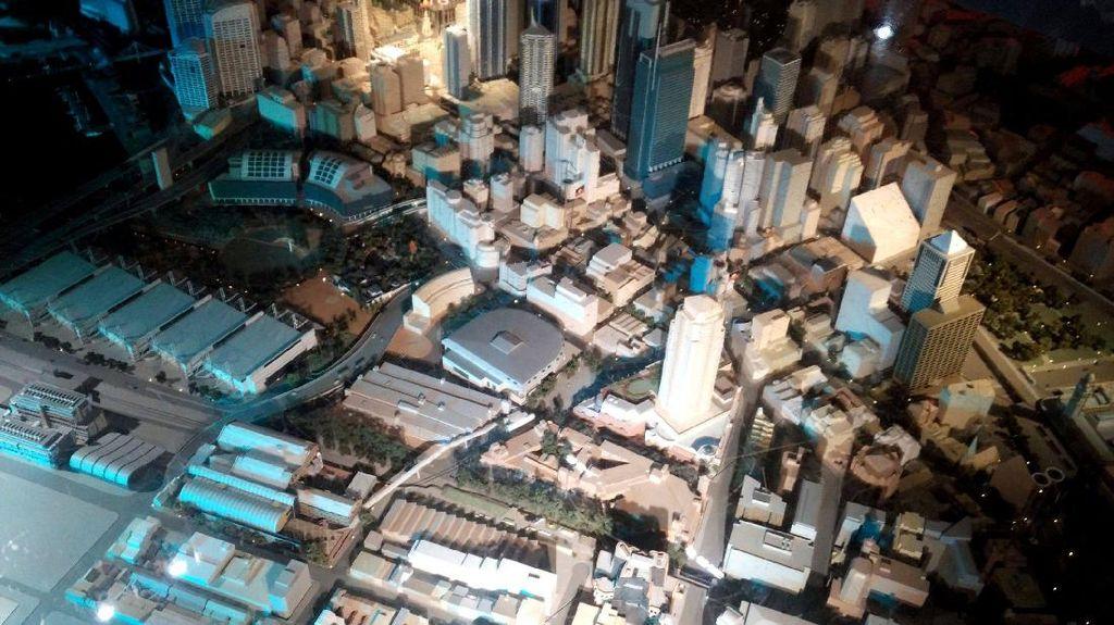 Melihat Miniatur Kota Sydney Seberat 1 Ton di Australia
