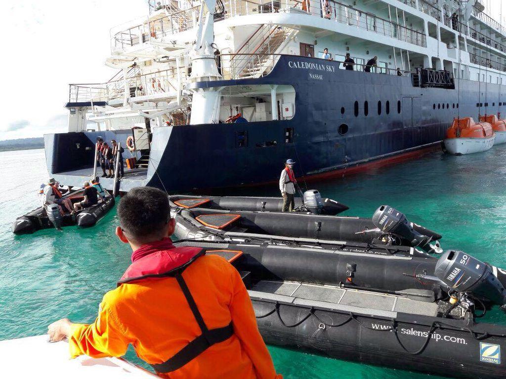 Cerita Basarnas Naik ke Kapal yang Merusak Karang Raja Ampat
