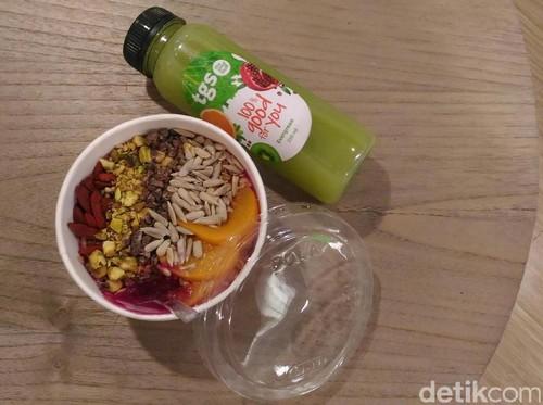 The Good Stuff, Gerai Makanan Siap Saji Berkonsep Sehat Hadir di Central Park