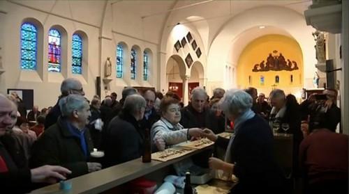Usai Ibadah Minggu, Gereja di Belgia Ini Disulap Jadi Bar