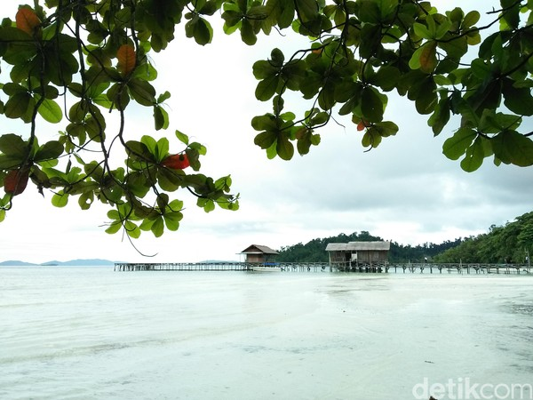 Ini Waiwo, Pantai Instagenic di Raja Ampat