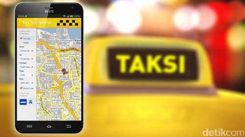 MA Cabut Aturan Taksi Online