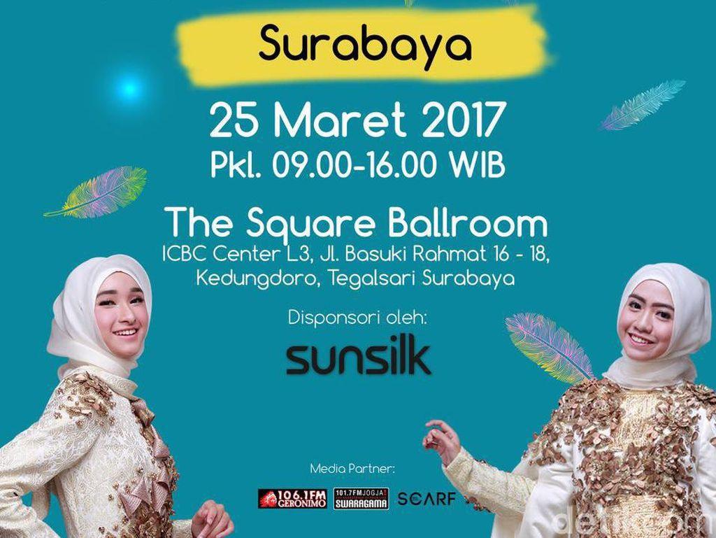 Hari Ini, Audisi Sunsilk Hijab Hunt 2017 Digelar di Surabaya