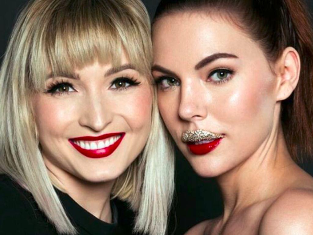 Bertabur Berlian 6,5 Karat, Inikah Makeup Bibir Paling Mahal di Dunia?