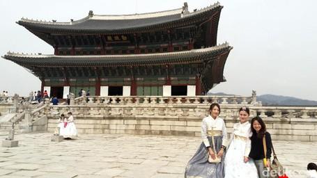 Inilah Istana Paling Ikonik Di Korea Selatan