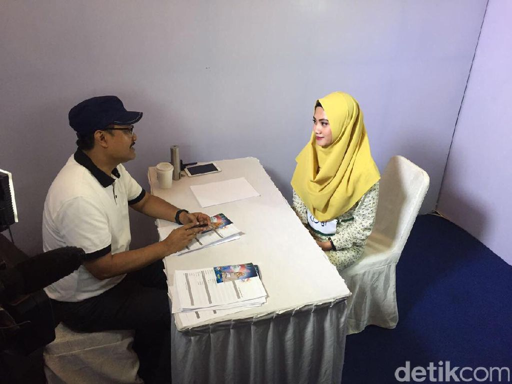 Saat Wakil Gubernur Jatim Mengaudisi Peserta Sunsilk Hijab Hunt 2017