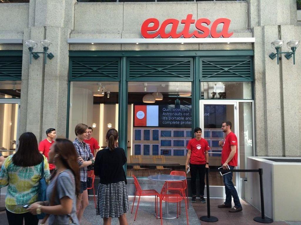 Restoran Otomatis Eatsa Dituntut karena Menyulitkan Tuna Netra Saat Bersantap