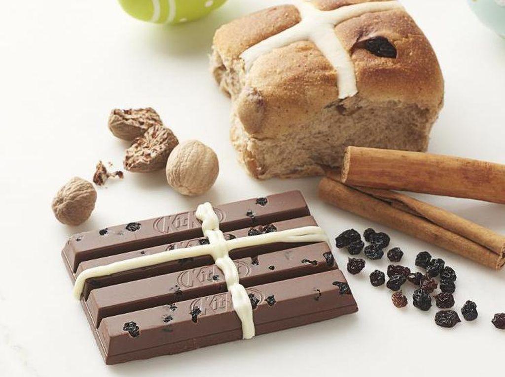 KitKat Perkenalkan Hot Cross Bun Chocolate Bar untuk Sambut Paskah