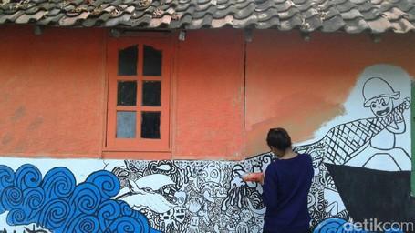 Siap-siap, Bakal Ada Kampung Mural Di Banyuwangi