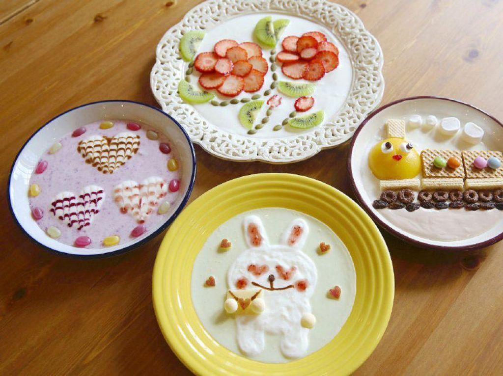 Setelah Latte Art Kini Yogurt Art Jadi Tren Kalangan Millennial