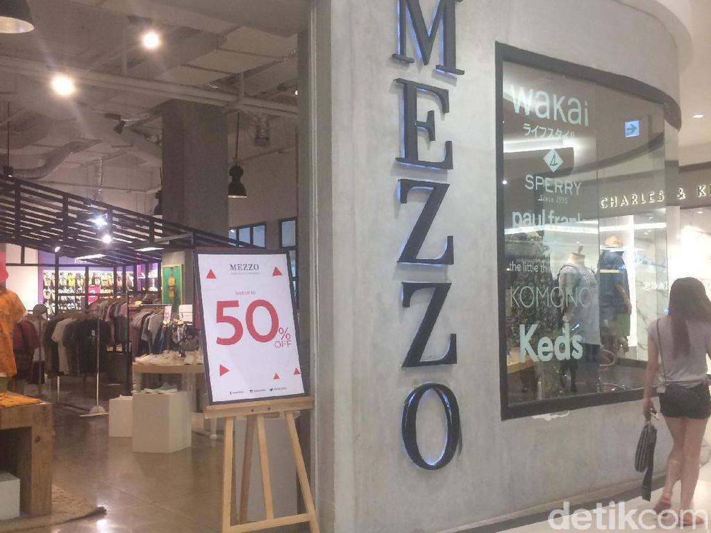 Baju Hingga Sepatu Mezzo Diskon 70% di Aeon Mall