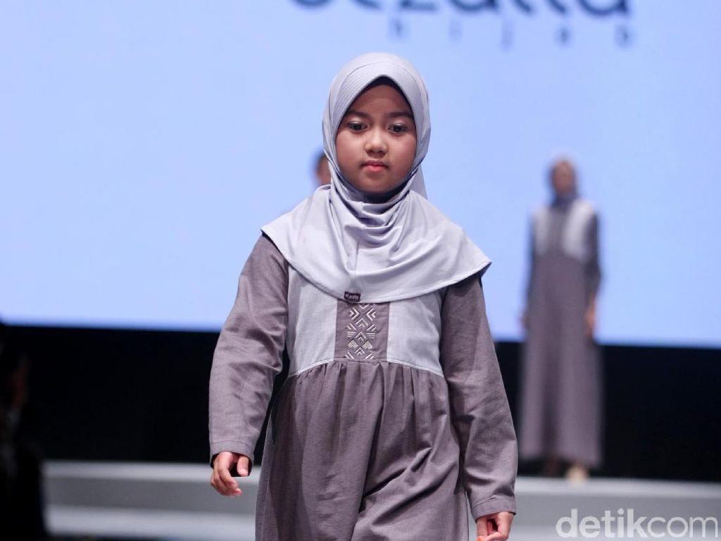 Foto: Fashion Show Elzatta Hijab di Muslim Fashion Festival 2017