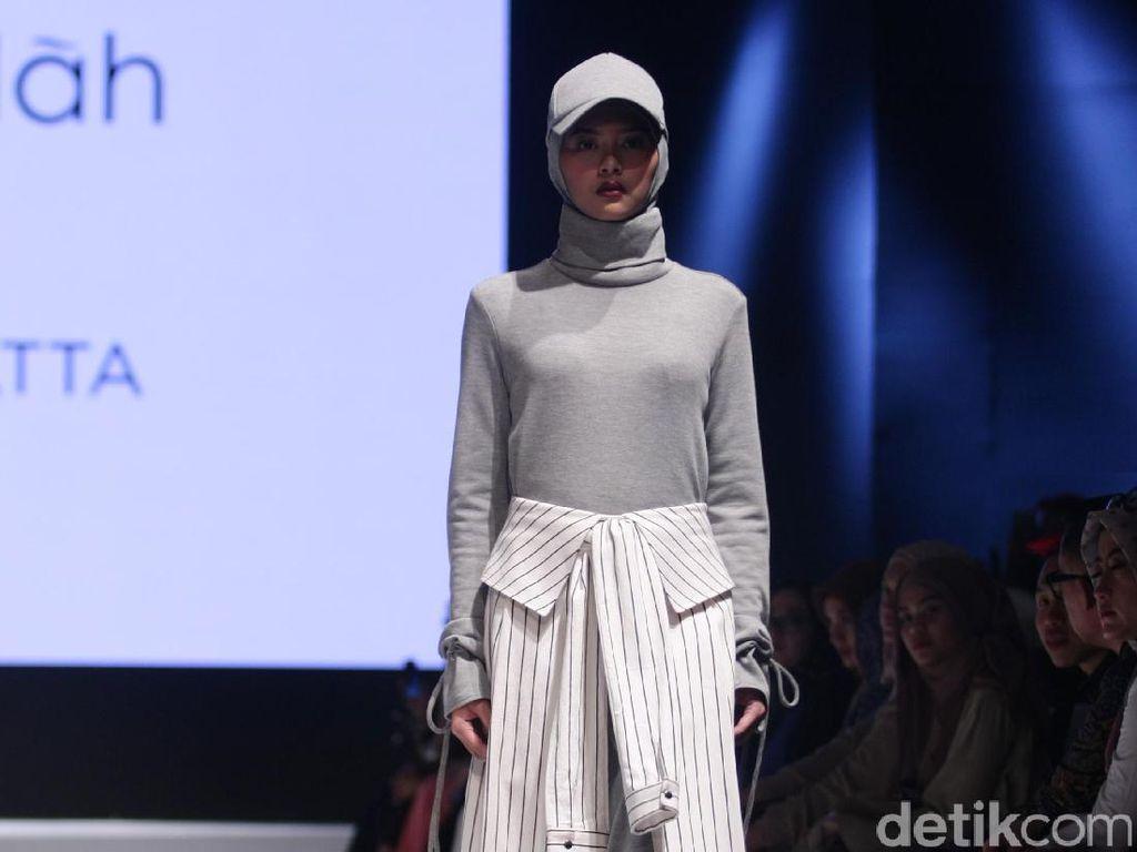 Foto: Koleksi Rani Hatta di Muslim Fashion Festival 2017
