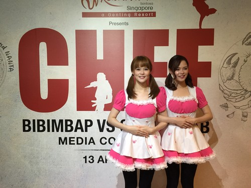Ini Cerita Saudara Kembar Pemeran Cutie Chef di CHEF : Bibimbap vs Chilli Crab