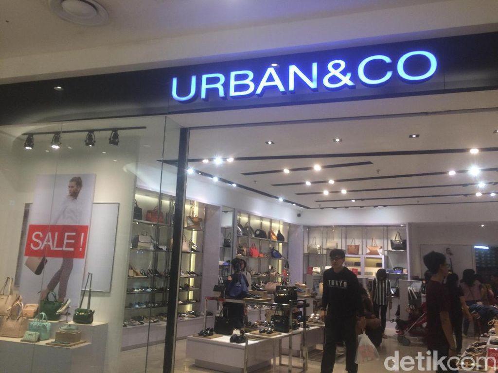 Sandal Sampai High Heels di Urban & Co Diskon Hingga 50%