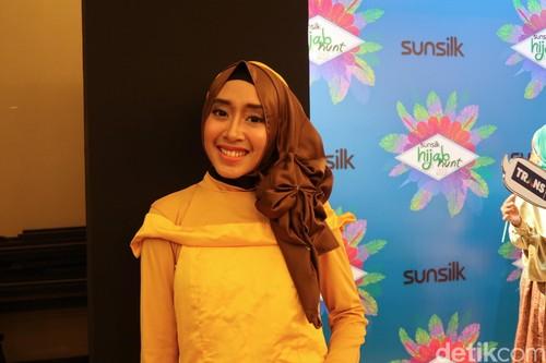 Foto: Ada Belle Beauty and the Beast di Audisi Sunsilk Hijab Hunt Bandung