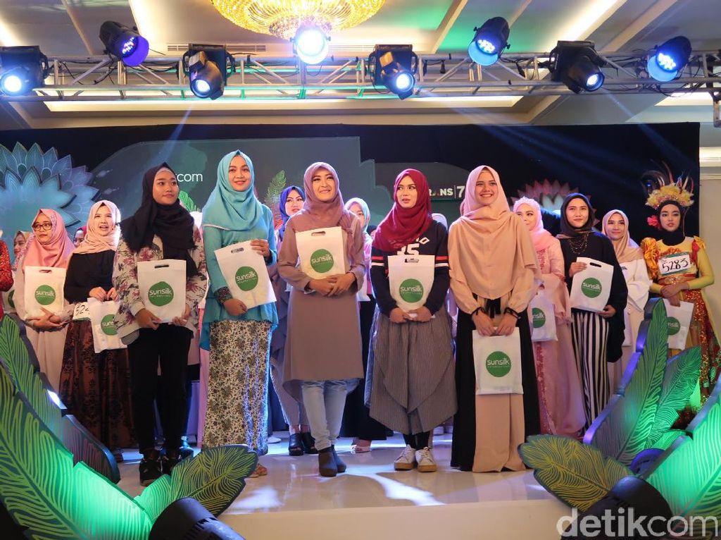 Hari Ini, 30 Peserta Sunsilk Hijab Hunt Bandung Siap Audisi Hari Kedua