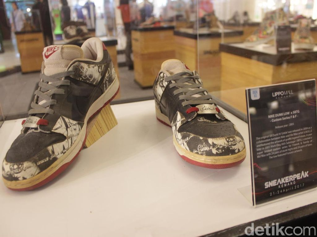 Long Weekend, Yuk Lihat Koleksi Sneakers Langka di SneakerPeak Kemang