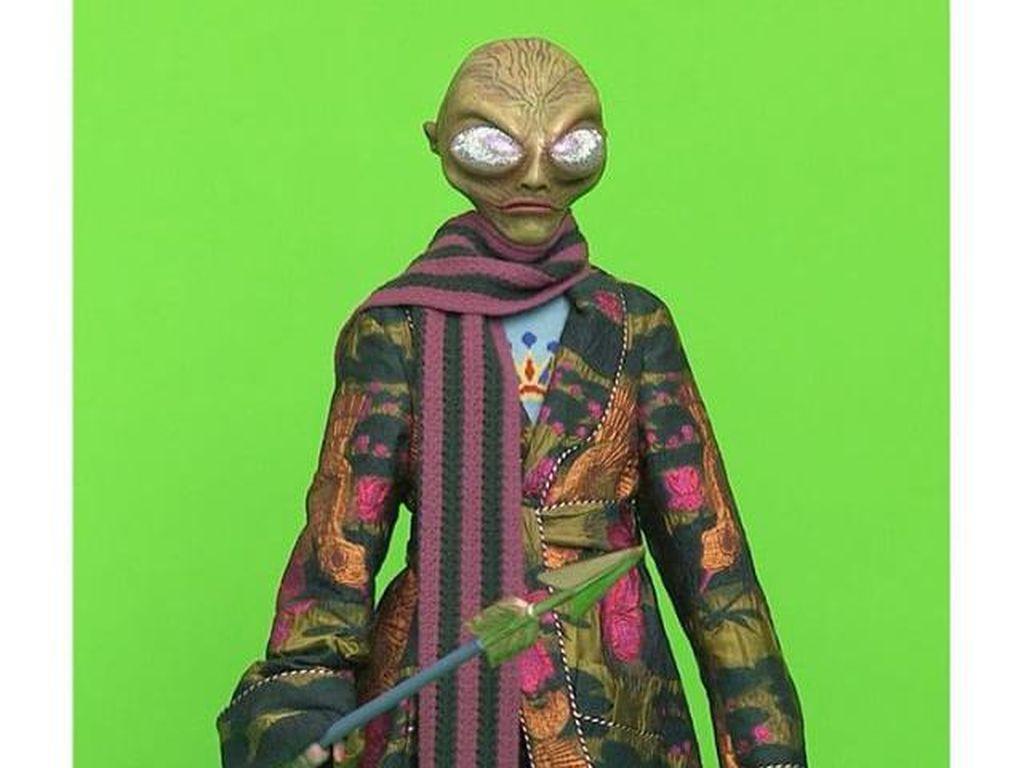 Bukan Model Ternama, Gucci Tampilkan Alien dalam Iklan Terbaru