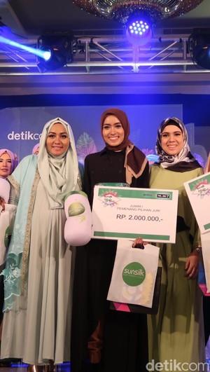 3 Hijabers Bertalenta Unik, Juara Favorit Sunsilk Hijab Hunt Bandung