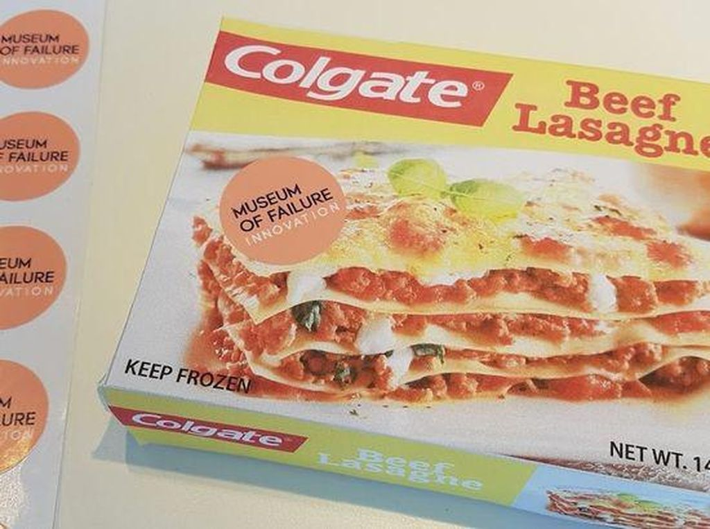 Colgate Beef Lasagne dan Coca-Cola Rasa Kopi, Produk Makanan Gagal di Museum of Failures