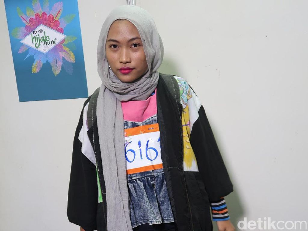 Mahasiswi Seni Nyentrik Pamer Ilustrasi di Audisi Sunsilk Hijab Hunt Jakarta