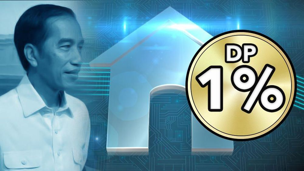 Program Rumah DP 1% Jokowi
