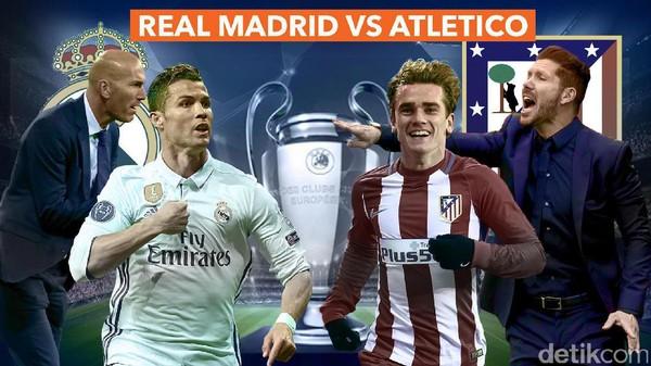 Madrid Gilas Atletico 3-0