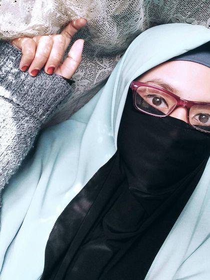Foto: Gaya Hijab Bercadar Remaja Bogor yang Populer ...