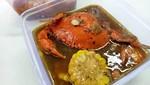 Mencicip Kepiting Lada Hitam dan Saus Padang dalam Kemasan Kotak