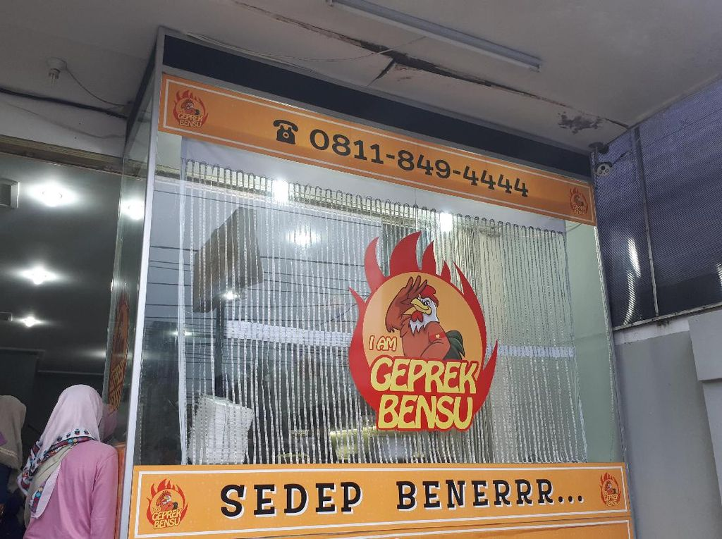 I Am Geprek Bensu adalah usaha restoran milik artis Ruben Onsu. Cabangnya tersebar di Depok, BSD, dan Jelambar.