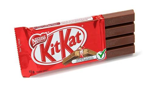 Kit Kat Gagal Dapatkan Merek Dagang untuk Bentuk Ikoniknya