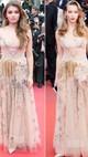 Dua Aktris Ini Tak Sengaja Pakai Gaun Sama di Red Carpet Cannes