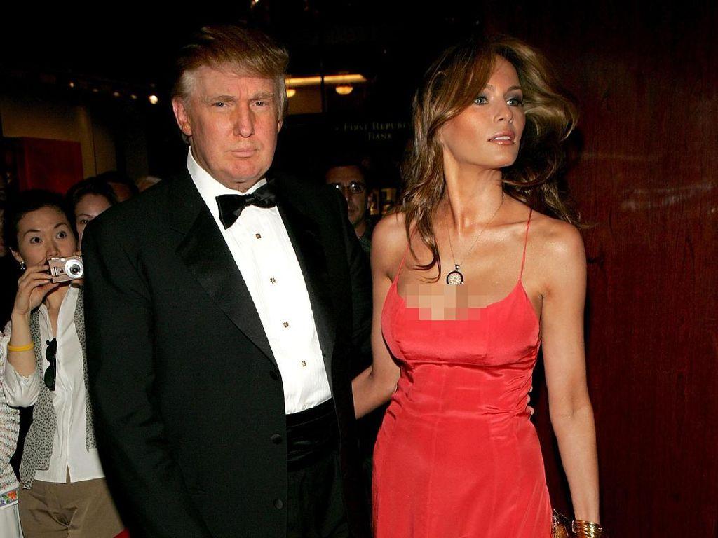Melihat Lagi 10 Gaya Seksi Melania Trump Sebelum Jadi Ibu Negara