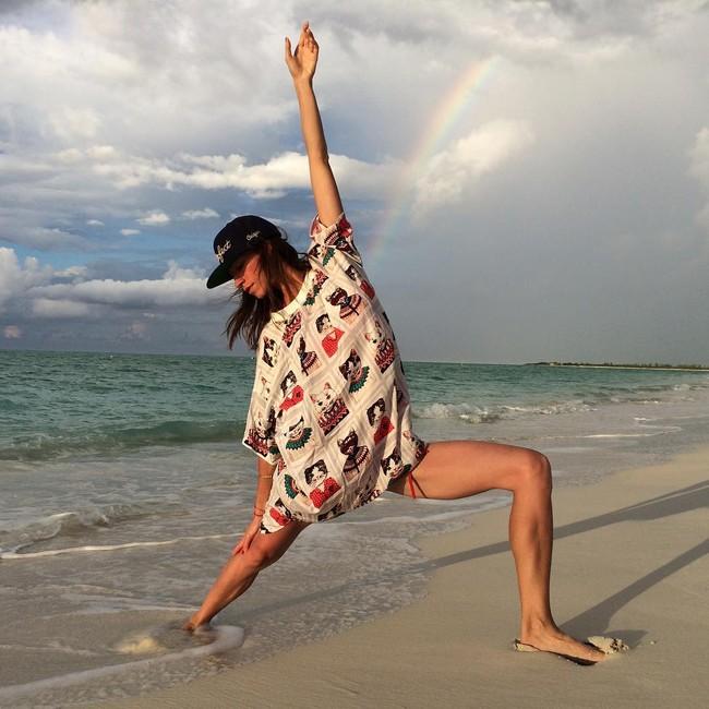 Pelatih Yoga Cantik Ini Dulunya Seorang Model