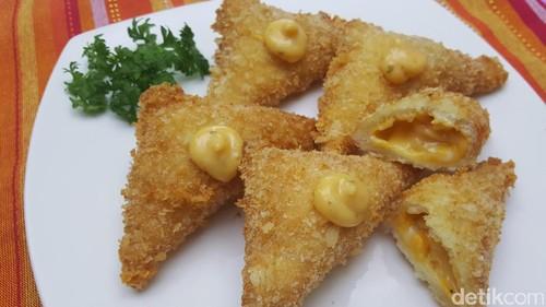 Resep Camilan: Sari Roti Cheezy Crunchy