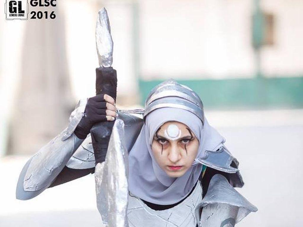 Foto: Hijab Cosplayer dari Indonesia Hingga Mesir yang Jadi Sorotan