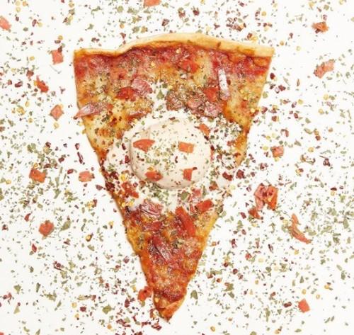 Nyam! Manis Gurih Pizza Dalam Lembutnya Es Krim