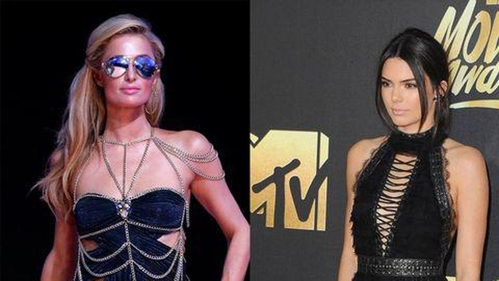 10 Bukti Kendall Jenner Fans Berat dan Curi Gaya Paris Hilton