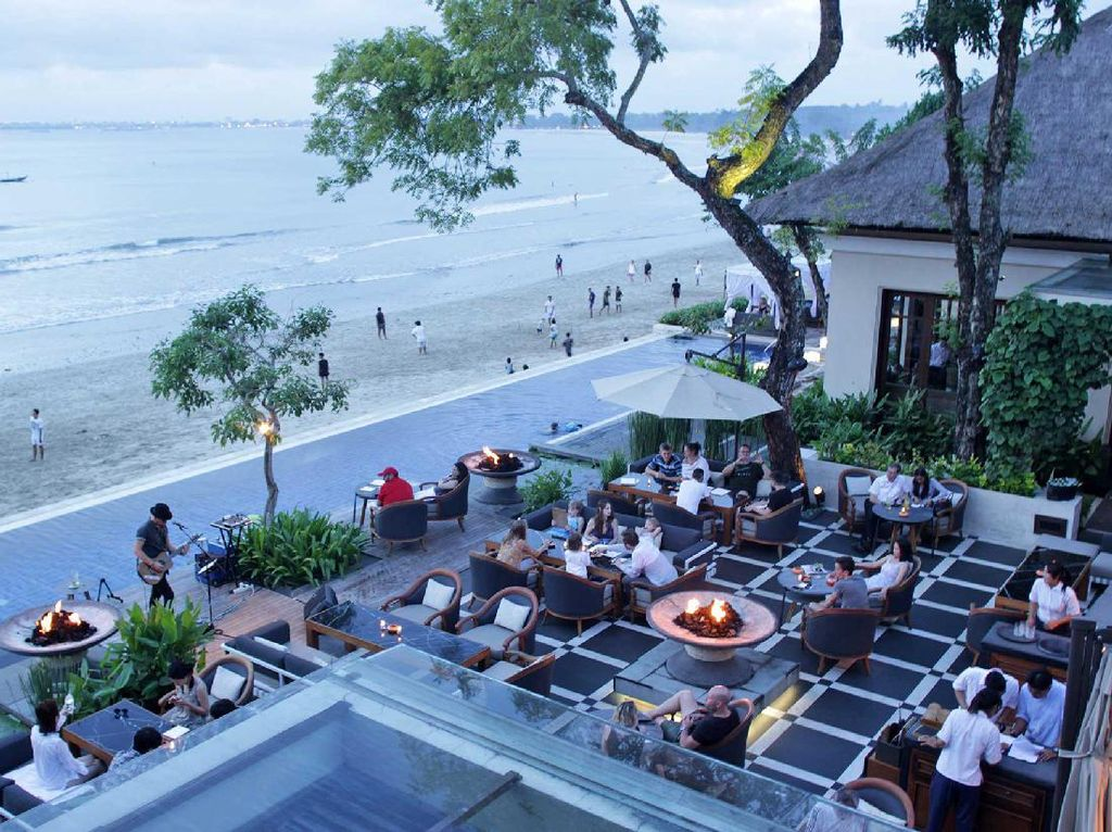 Sundara, Restoran Panoramik di Tepian Jimbaran yang Dikunjungi Anak Obama