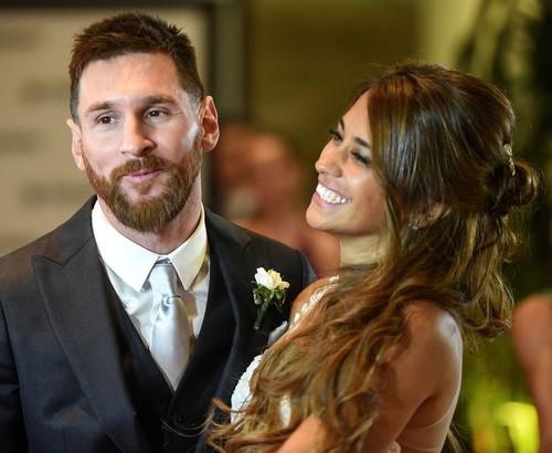 Lionel Messi Sumbangkan Sisa Makanan Pesta Pernikahannya untuk Amal